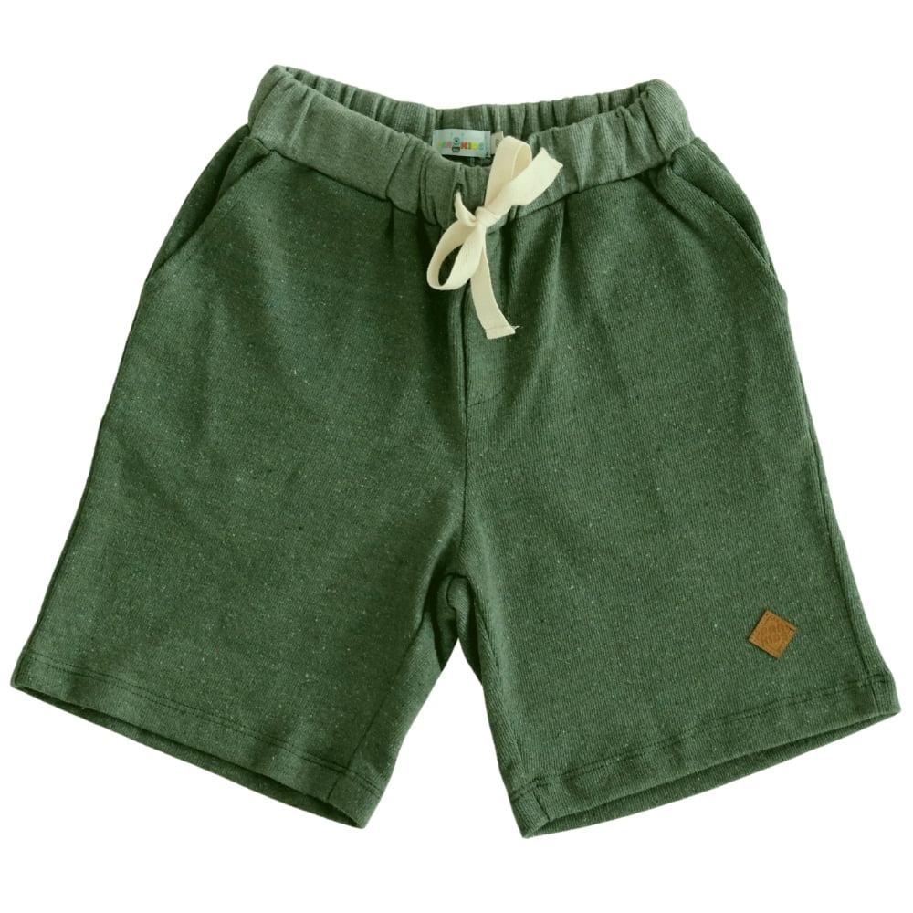Bermuda Infantil Masculina Verde