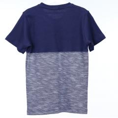 Camisa Infantil Azul Duas Cores