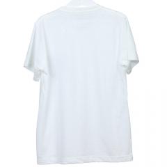 Camisa Infantil Branca Malha Podrinho com Bolso Verde