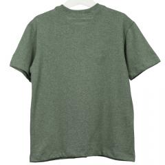 Camisa Infantil Verde Mescla com Bolso