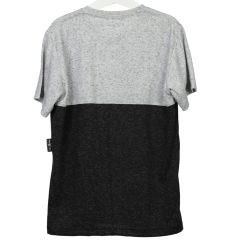Camisa Infantil Preta e Cinza